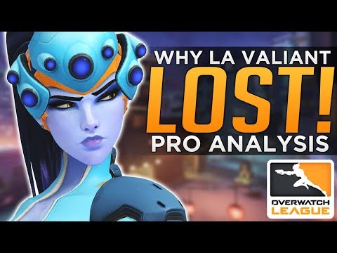 Overwatch: Why LA Valiant LOST! BEST Series Yet! - Pro Analysis