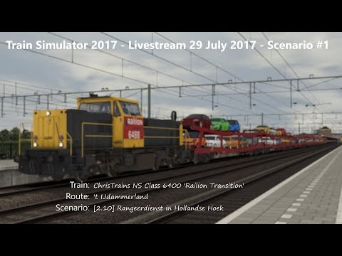 210 Rangeerdienst in Hollandse Hoek Livestream 290717