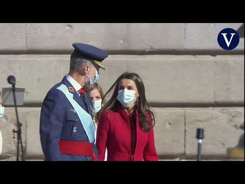 Normalidad institucional en un 12-O marcado por la pandemia de la Covid