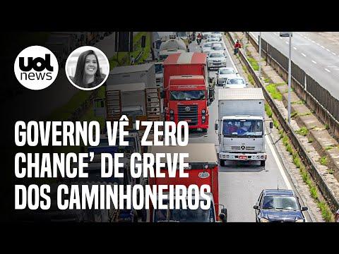 Greve dos caminhoneiros: Governo vê 'zero chance' de paralisação convocada para domingo