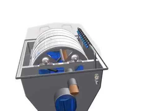 Veolia Hydrotech Drumfilter
