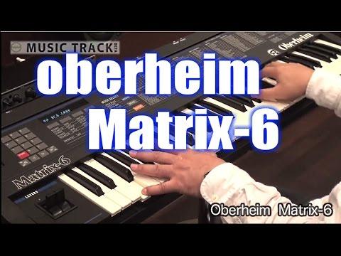 【DEMO:CC】Oberheim Matrix-6