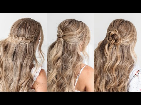 3 Half Up FALL Hairstyles | Missy Sue
