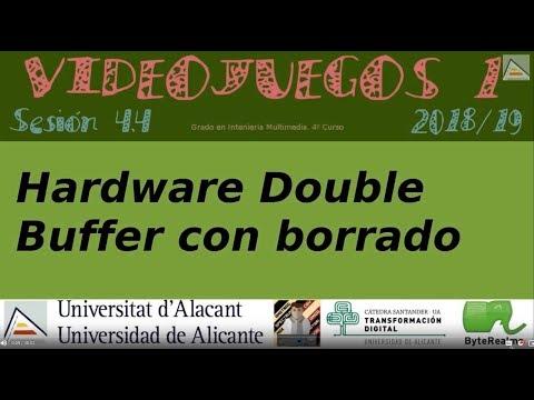 Double Buffer Hardware con borrado [GameDev asm Z80][4.4][2018]