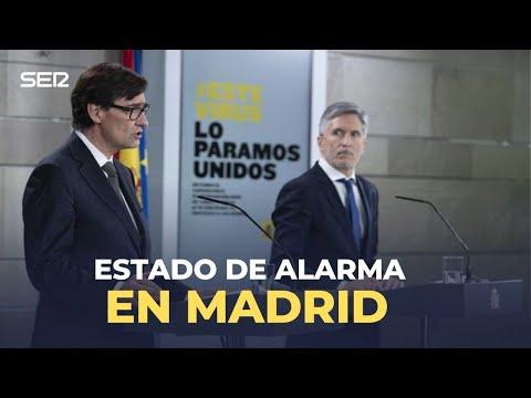 DIRECTO |Illa y Marlaska hablan sobre el estado de alarma en Madrid