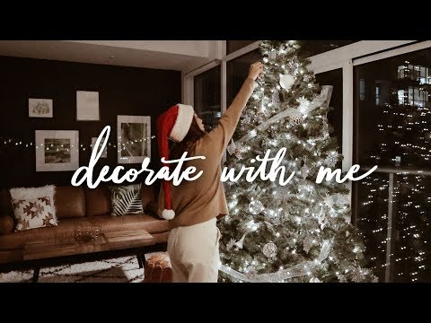 Decorate with Me for Christmas (i struggled lol)