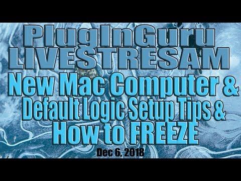 January 6, 2018 - Starting Tips for Mac, Logic Pro X and Freezing