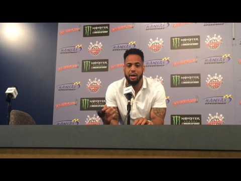 Derrick Johnson on being a NASCAR pace car driver