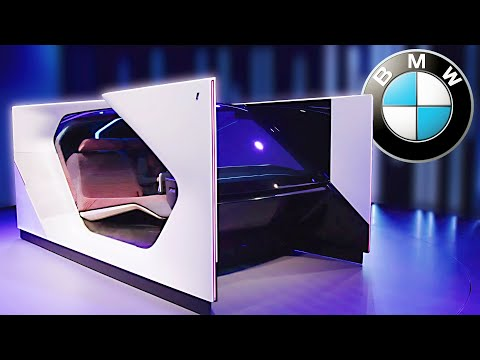 The Craziest Concept Car at the CES 2020 ? BMW i Interaction EASE