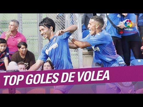 TOP Goles de Volea LaLiga Santander 2017/2018