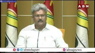 LIVE: TDP Pilli Manikyala Rao Press Meet LIVE   ABN LIVE - ABNTELUGUTV