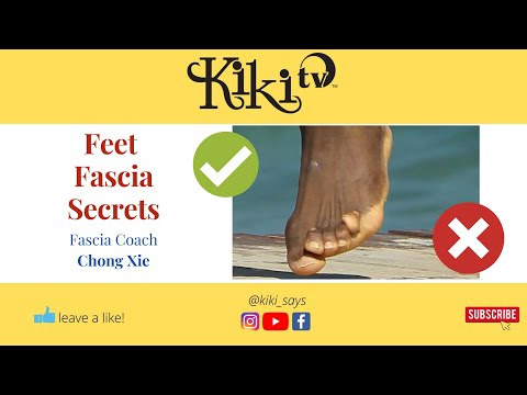 Heal Hip Pain and Thrive  (Foot Training Secrets) with Fascial Coach Chong Xie