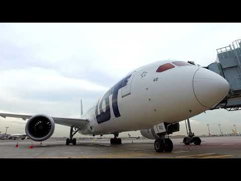 Welcoming LOT Polish Airlines