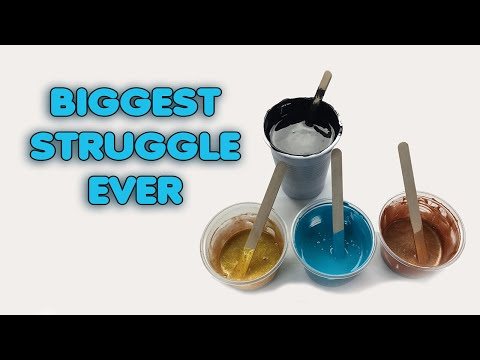 ( 1011 ) Biggest Acrylic struggle ever
