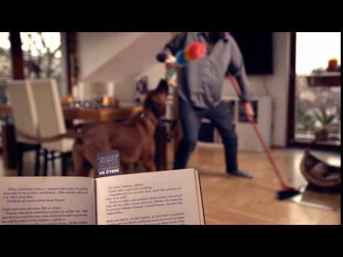 Daruj knihu a více času na čtení! Ukliď celý dům :-)