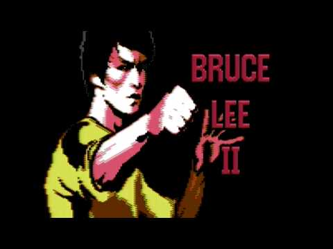Jugando un par de Horas al Bruce Lee 2 #Commodore manía videos