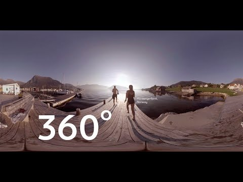 Scandinavian Wonders: 360 at Norway's Hardangerfjorden Jetty