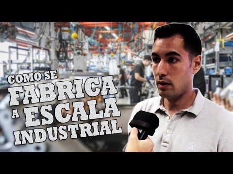 Cómo se fabrica a escala industrial | Joshua García