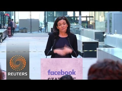 Facebook COO Sandberg launches start-up incubator in central Paris