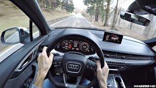 2017 Audi SQ7 4.0 V8 TDI POV Drive on Winding Roads – Diesel V8 Sound!