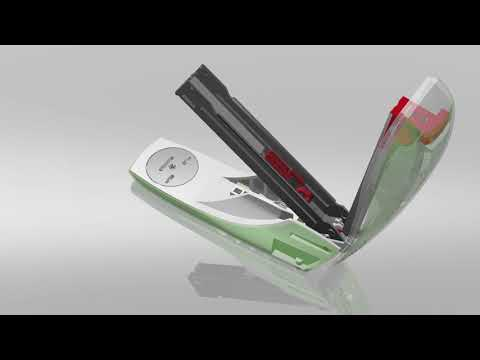 Leitz New NeXXt Strong Metal Stapler - Green