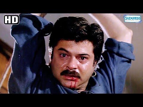 Best Action Scene From 'Beta' - Anil Kapoor, Madhuri Dixit, Aruna Irani - Popular Hindi Movie
