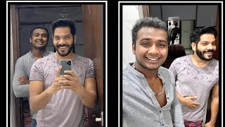 Rahul Sipligunj Do Hair Cut For His Friend Noel Sean In Lockdown |  #Stayathome Challange - RAJSHRITELUGU