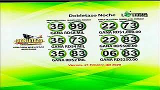 Sorteo Lotería Nacional