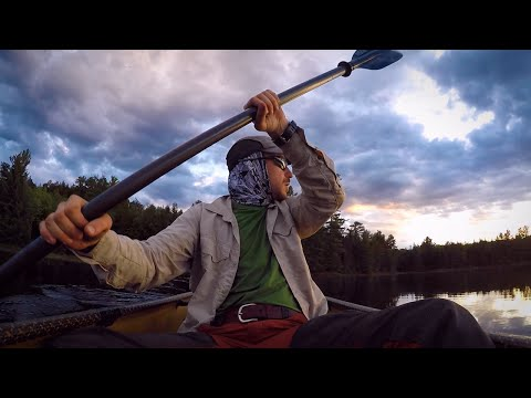 Canoe Camping for 2 Nights-Catch and Cook Pike over a Fire-Bug Bites-Snakes!