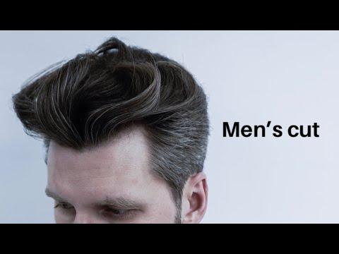 Transformation | Classic Mid Length Men's Haircut With Disconnection  Men's Haircut Мужская стрижка photo