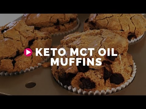 Make Keto Muffins with MCT Oil Powder