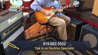 Gibson '59 Reissue R9 Les Paul Ice Tea Burst #941544 Quick 'n' Dirty