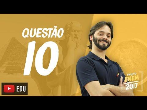 Enem 2016: Questão10(CadernoBranco)