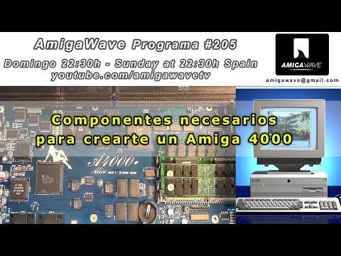 AmigaWave #205 .Actualidad retro y BOM list de componentes Amiga4000.