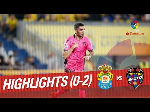 Resumen de UD Las Palmas vs Levante UD (0-2)