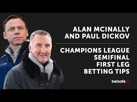 Champions League Semifinal Preview First Leg - McInally and Dickov
