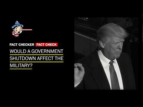 No, the military won't shut down if the government does