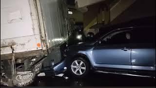 Camión sin frenos involucrado en accidente de tránsito en Totonicapán