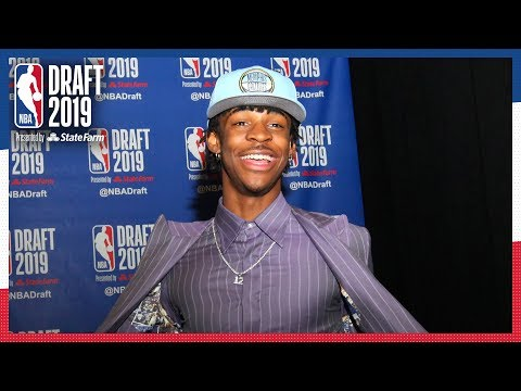 Ja Morant Selected 2nd OVERALL! | 2019 NBA Draft