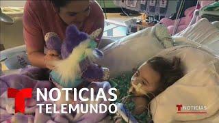 Niña de 4 años pierde la vista a consecuencia del flu   Noticias Telemundo