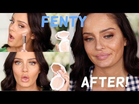 FENTY Beauty GRWM + 10 Hour Fenty Wear Test!