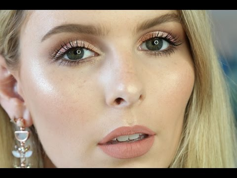 ONE BRAND ONLY METALLIC EYE + GLOWING, FLAWLESS SKIN | RACHAEL BROOK