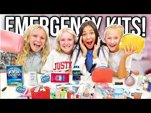 HOW to USE EMERGENCY KITS FOR TEEN GIRLS 2021-2022! | BACK TO SCHOOL! | PERIOD KIT!