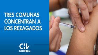 COVID-19: Las tres comunas que concentran el 30% de los rezagados de la Región Metropolitana