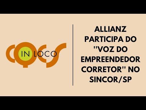 """Imagem post: Allianz participa do """"Voz do Empreendedor Corretor"""" no Sincor/SP"""