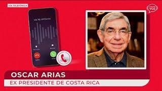 Óscar arias habla sobre situación en Nicaragua
