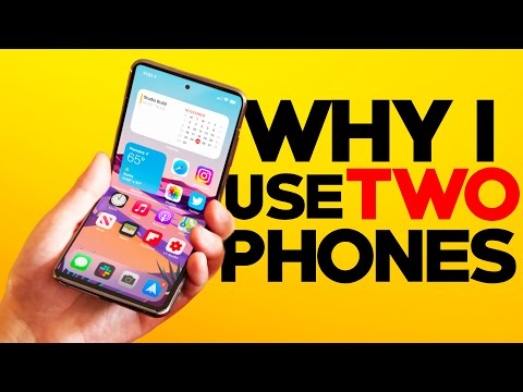 Why YouTubers use two phones (iPhone vs Android)