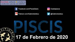 Horóscopo Diario - Piscis - 17 de Febrero de 2020