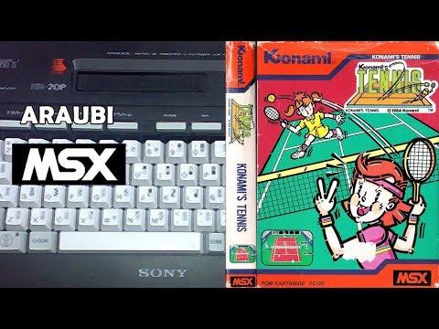 Konami's Tennis (Konami, 1984) MSX [096] El Kiosko