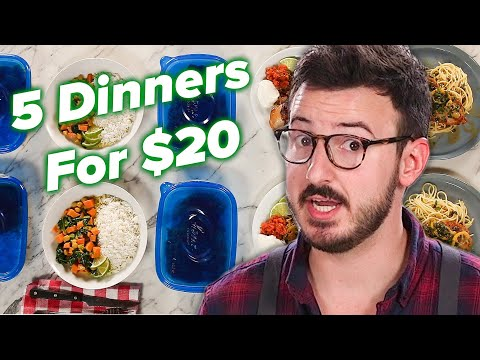 I Tried To Make 5 Meals For 2 For Only $20 ?Tasty